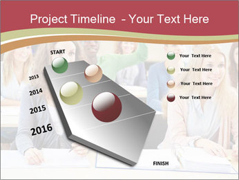 African student PowerPoint Template - Slide 26