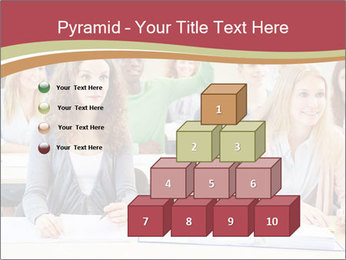 African student PowerPoint Template - Slide 31