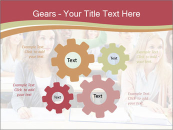 African student PowerPoint Template - Slide 47