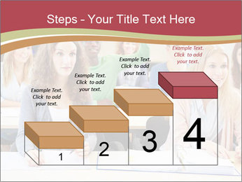 African student PowerPoint Template - Slide 64