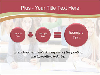 African student PowerPoint Template - Slide 75