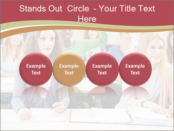 African student PowerPoint Template - Slide 76