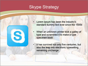 African student PowerPoint Template - Slide 8