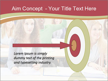 African student PowerPoint Template - Slide 83