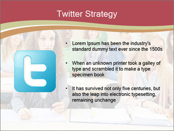 African student PowerPoint Template - Slide 9
