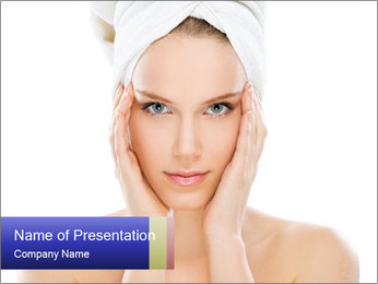 Young beauty PowerPoint Template - Slide 1