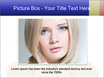 Young beauty PowerPoint Template - Slide 15