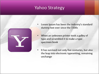 Orange Coloring Crayon PowerPoint Template - Slide 11