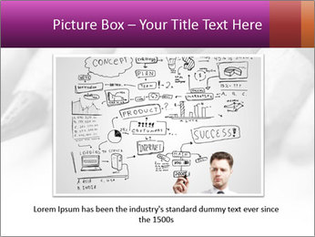 Orange Coloring Crayon PowerPoint Template - Slide 15