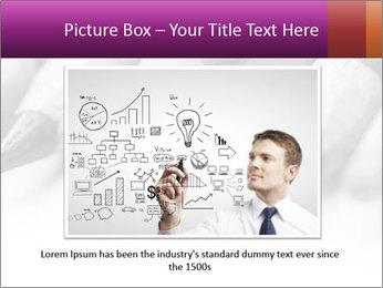 Orange Coloring Crayon PowerPoint Template - Slide 16