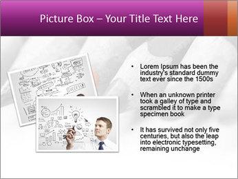 Orange Coloring Crayon PowerPoint Template - Slide 20