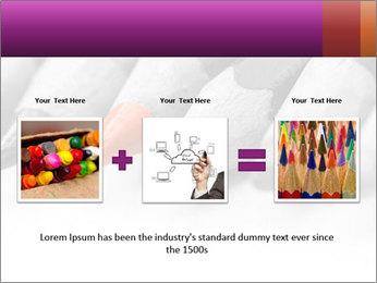 Orange Coloring Crayon PowerPoint Templates - Slide 22