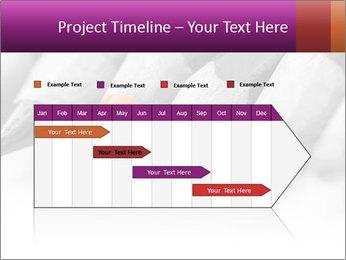 Orange Coloring Crayon PowerPoint Template - Slide 25