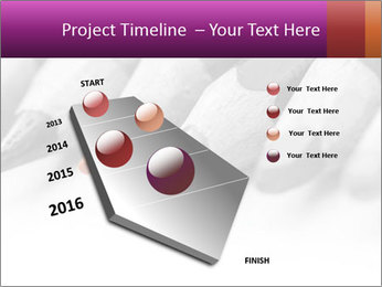 Orange Coloring Crayon PowerPoint Template - Slide 26