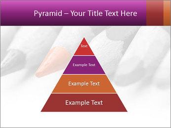 Orange Coloring Crayon PowerPoint Templates - Slide 30
