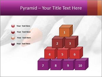 Orange Coloring Crayon PowerPoint Template - Slide 31