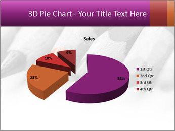 Orange Coloring Crayon PowerPoint Template - Slide 35