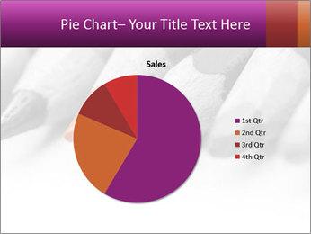 Orange Coloring Crayon PowerPoint Templates - Slide 36