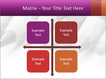 Orange Coloring Crayon PowerPoint Template - Slide 37