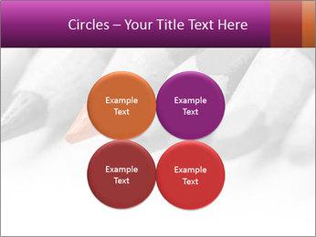 Orange Coloring Crayon PowerPoint Template - Slide 38