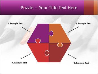 Orange Coloring Crayon PowerPoint Template - Slide 40