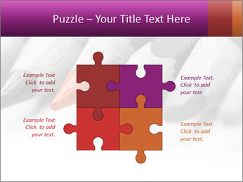 Orange Coloring Crayon PowerPoint Template - Slide 43