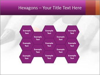 Orange Coloring Crayon PowerPoint Template - Slide 44