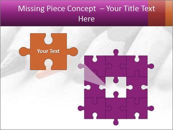 Orange Coloring Crayon PowerPoint Templates - Slide 45
