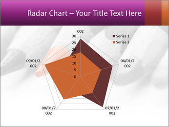 Orange Coloring Crayon PowerPoint Templates - Slide 51