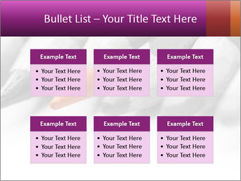 Orange Coloring Crayon PowerPoint Templates - Slide 56