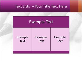 Orange Coloring Crayon PowerPoint Template - Slide 59