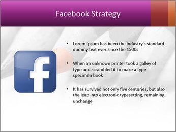 Orange Coloring Crayon PowerPoint Template - Slide 6