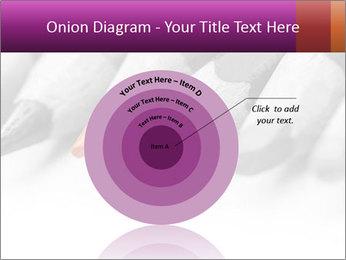 Orange Coloring Crayon PowerPoint Template - Slide 61