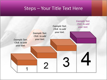 Orange Coloring Crayon PowerPoint Template - Slide 64