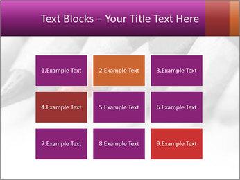 Orange Coloring Crayon PowerPoint Template - Slide 68