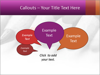 Orange Coloring Crayon PowerPoint Template - Slide 73