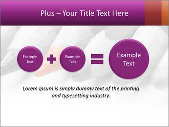 Orange Coloring Crayon PowerPoint Templates - Slide 75