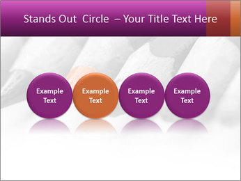 Orange Coloring Crayon PowerPoint Template - Slide 76