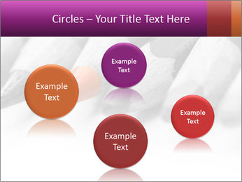 Orange Coloring Crayon PowerPoint Template - Slide 77