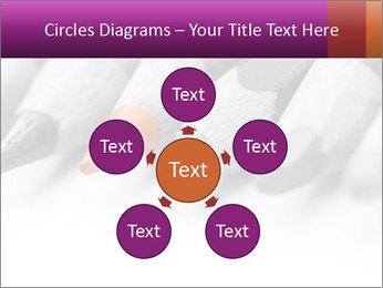 Orange Coloring Crayon PowerPoint Template - Slide 78
