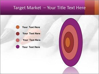 Orange Coloring Crayon PowerPoint Template - Slide 84
