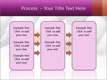 Orange Coloring Crayon PowerPoint Template - Slide 86