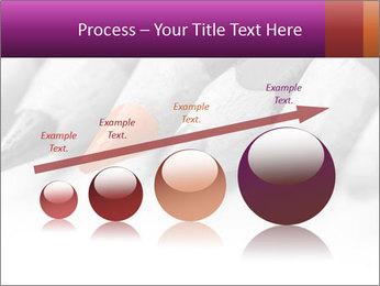 Orange Coloring Crayon PowerPoint Template - Slide 87