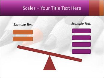 Orange Coloring Crayon PowerPoint Templates - Slide 89
