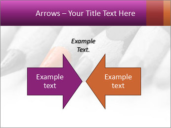 Orange Coloring Crayon PowerPoint Template - Slide 90
