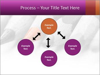 Orange Coloring Crayon PowerPoint Templates - Slide 91