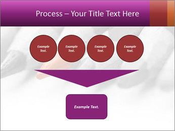 Orange Coloring Crayon PowerPoint Template - Slide 93