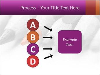 Orange Coloring Crayon PowerPoint Template - Slide 94