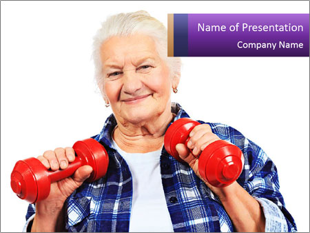 Happy grandma PowerPoint Template