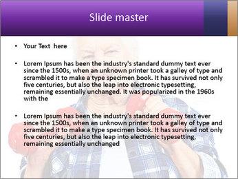 Happy grandma PowerPoint Templates - Slide 2